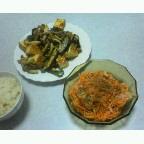 麻婆(茄子+揚げ豆腐)