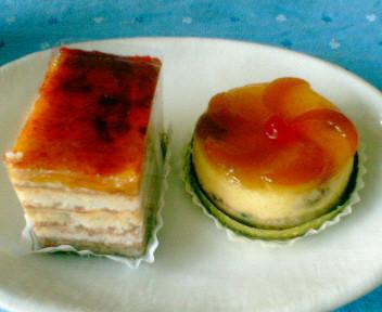 オーボンビュータンのケーキ