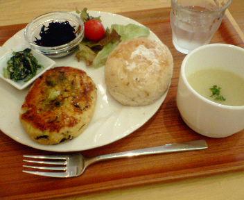 10月29日のランチ「Cafe Yui」