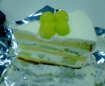 ハーブのメロンケーキ