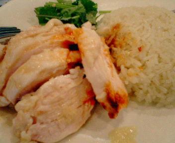 11月1日のランチ「海南鶏飯」