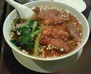 7月14日の排骨麺