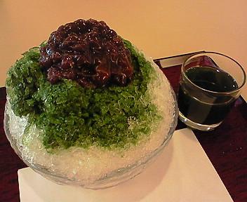 8月19日「東京羊羹」のかき氷