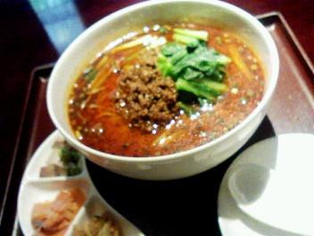 8月2日「過門香」の坦々麺