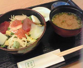 8月21日「赤坂来茶」のランチ