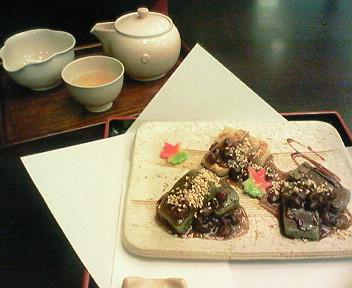 9月2日京都・福寿園のお店「慶茶」