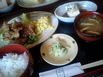 9月13日笹塚の「いりきや」でランチ