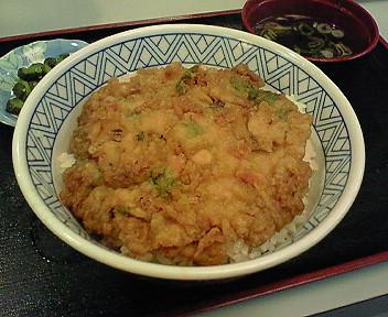 10月7日常盤軒で食べられる「品川丼」とは?