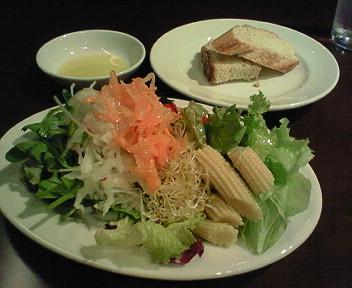 10月18日「nobilduca」で野菜たっぷりランチ