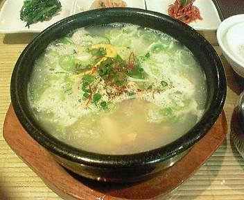 10月2日「ソウル参鶏湯」でついにアレ食べます