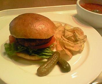 12月18日「アンデルセン」のハンバーガー