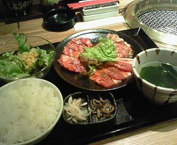 3月4日のランチ「韓の台所」
