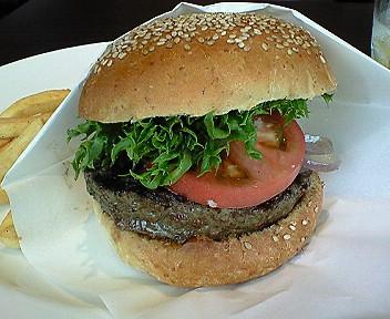 7月1日タカシマヤのハンバーガー