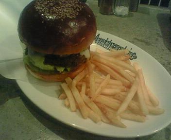 1月23日のハンバーガー