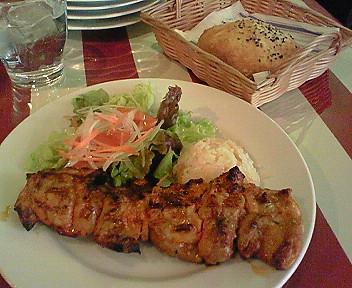 3月6日「ASENA」のトルコ料理ランチ