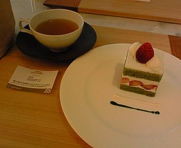 5月5日「ルピシア」でお茶ケーキ