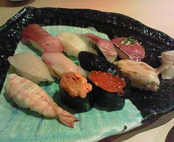 5月11日「銀座 福助」でお寿司