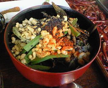 「香季庵」の黒い鍋ランチ