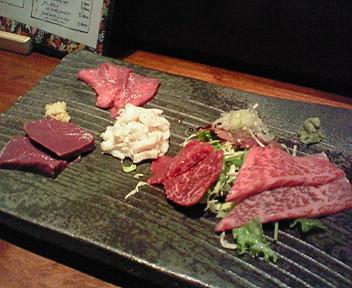 「肉割烹とらじ」で肉祭り