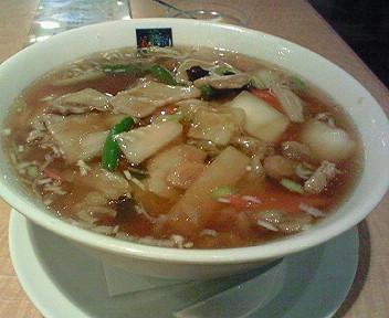 「美食菜舘」の上海湯麺でぽっかぽか