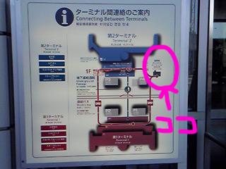 羽田空港国際線ターミナルの場所