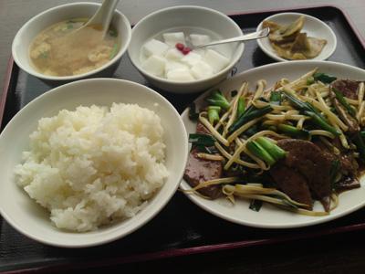 駒沢の中華料理やさん「洛餃子」
